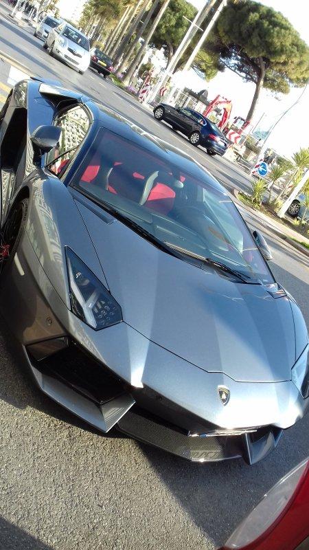 Petite Lamborghini prise ce week-end