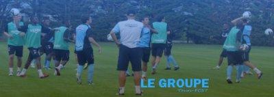 Le groupe pour les match du Tours FC