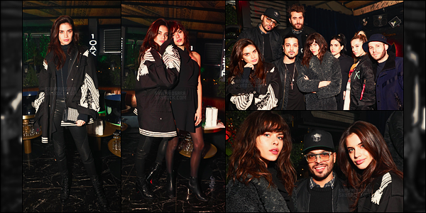 28/02/17 - La portugaise Sara Sampaio  était à l'after-party du chanteur The Weeknd  à l'Arc - dans Paris.   Sara était donc à l'after-party du chanteur qui venait de donner son concert à Paris dans le cadre de son Legend of the fall tour. Top !