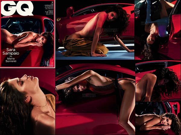 » Sara Sampaio fait la couverture du magazine GQ Italie pour son issue de ● Mars 2017
