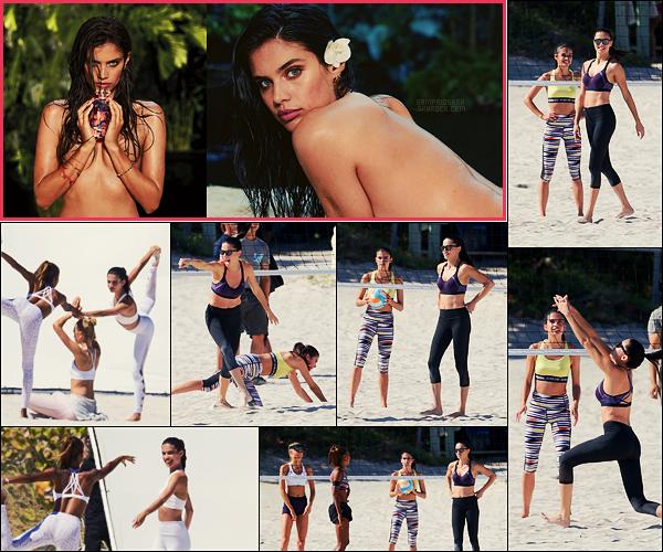 21/03/17 - Sara Sampaio  a été aperçue sur un set de Victoria Secret qui s'est réalisé à Miami, en Floride.  La ténébreuse Sara fait la campagne d'un nouveau parfum de la marque, elle est parfaite dans ce rôle, retrouvez les photos ci-dessous :