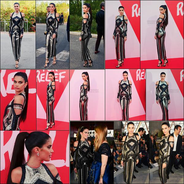 21/05/17 - Sara Sampaio  présente au gala de charité Fashion For Relif lors du Festival de Cannes, FR C'est encore une fois dans une très jolie tenue que nous retrouvons la mannequin Sara Sampaio. Pour ma part, c'est encore un joli top !