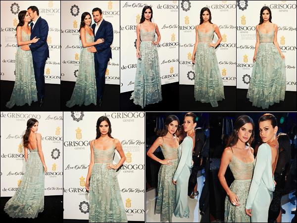 23/05/17 - Sara Sampaio  était présente à la soirée de De Grisogono Love On The Rocks, à Cannes, -FR  Sara est arrivée sur le tapis rouge avec une nouvelle robe signée Elie Saab. J'aime encore énormément cette tenue, Sara me gâte, top !