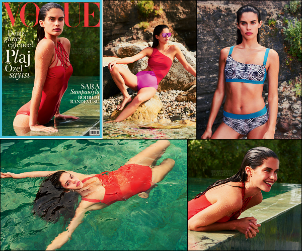 »  Notre mannequin Sara Sampaio fait la couverture de Vogue Turquie ● Issue Juin 2017