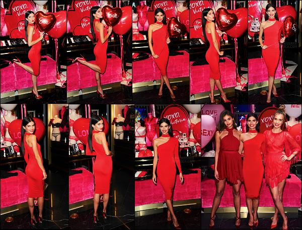 07/02/17 - Sara Sampaio  était présente à l'évenement spécial St Valentin de Victoria's Secret  dans N-Y.  Plus tard, Sara a été vue sortant de l'événement et rentrant à son hôtel dans une autre tenue, toujours rouge. Elle était toute mignonne !