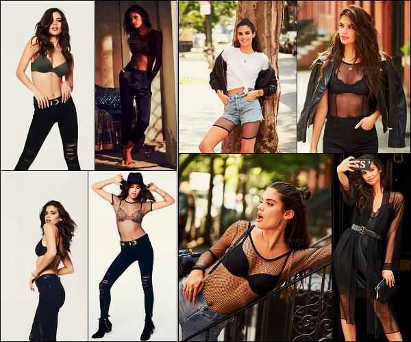 »   Deux nouveaux photoshoots dispo de notre ange Sara Sampaio pour Victoria's Secret