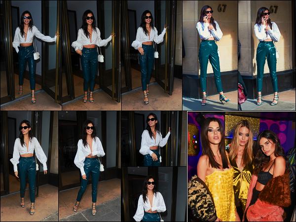 18/09/17 - Sur le beau sol anglais, Sara Sampaio a été aperçue à la sortie d'un bâtiment situé à Londres. Dans la soirée, la brunette était à la soirée Love Magazine x Miu Miu en compagnie de Martha Hunt. Une seule photo est disponible.