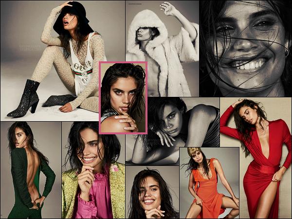 »   Découvre les photos de la belle Sara Sampaio pour Narcisse dont elle fait la couverture