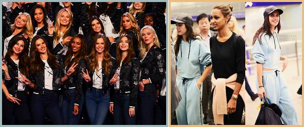 18/11/17 - La belle Sara Sampaio était présente au photocall de  Victoria's Secret , organisé à Shanghai. Sara a été vue arrivant à Shanghai en Chine par l'aéroport après un long vol, elle était avec son amie Jasmine ! Qu'en pensez-vous ?