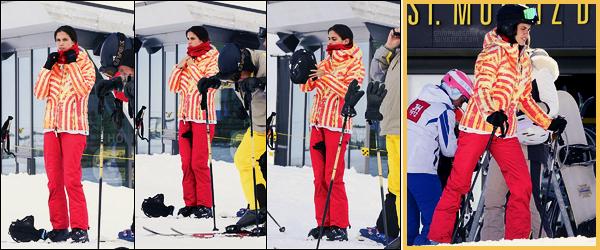 27/01/18 -  La belle Sara Sampaio prenait du bon temps, bien entourée, sur les pistes de ski de St. Moritz. Un peu de bon temps avant de démarrer la Fashion Week féminine qui s'annonce intense ! Côté tenue, j'ai rien à rajouter à vrai dire.