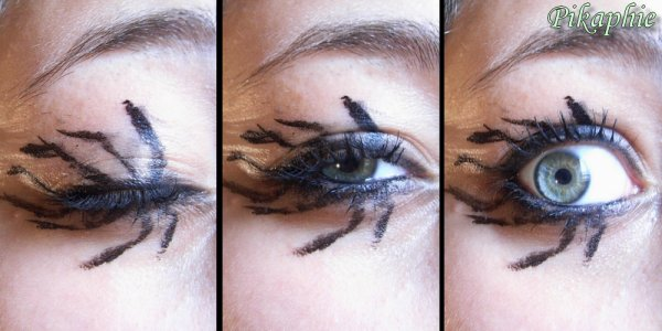 Blog de pikaphie blog de pikaphie - Maquillage halloween araignee ...