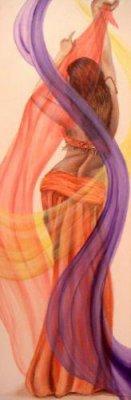 Dessin orientale je vous fais d couvrire ma passion et - Danseuse orientale dessin ...