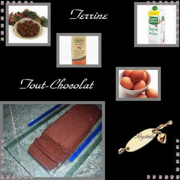 Terrine tout chocolat