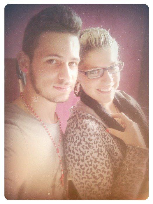 La soeur et moi ♥.