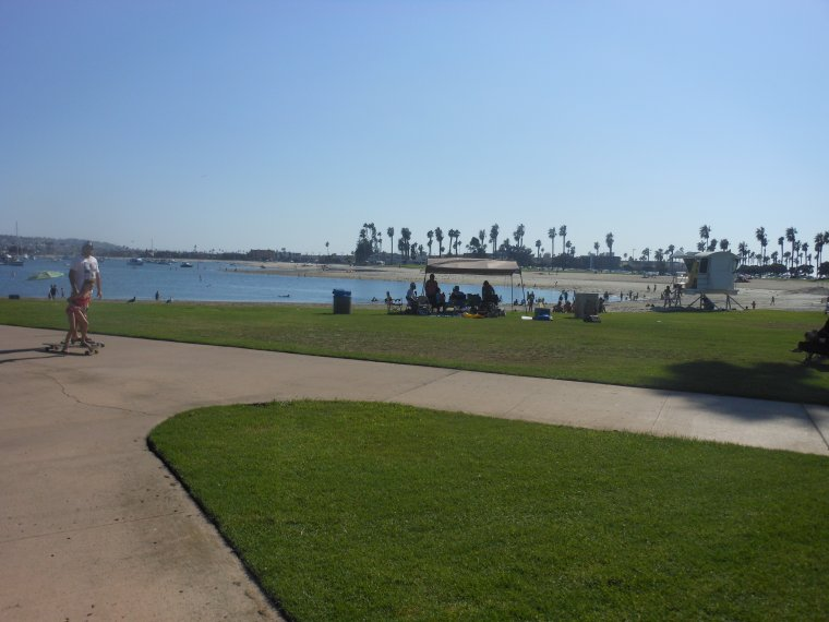 Mission Bay & Mission Beach.