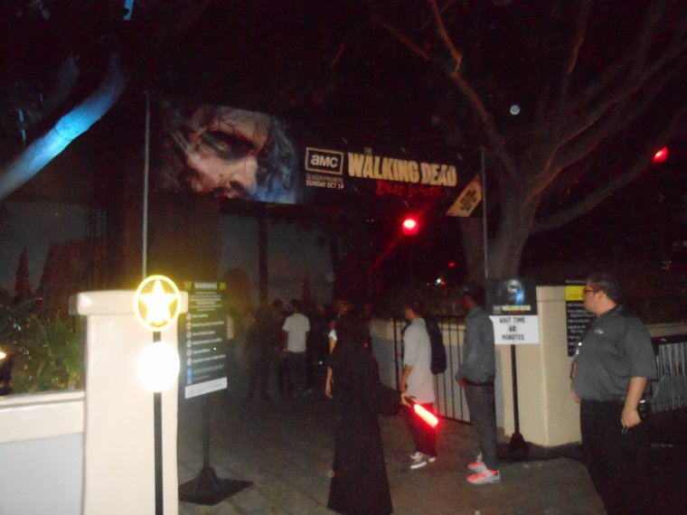 Horror Night, Universal Studio, 29 septembre 2012.