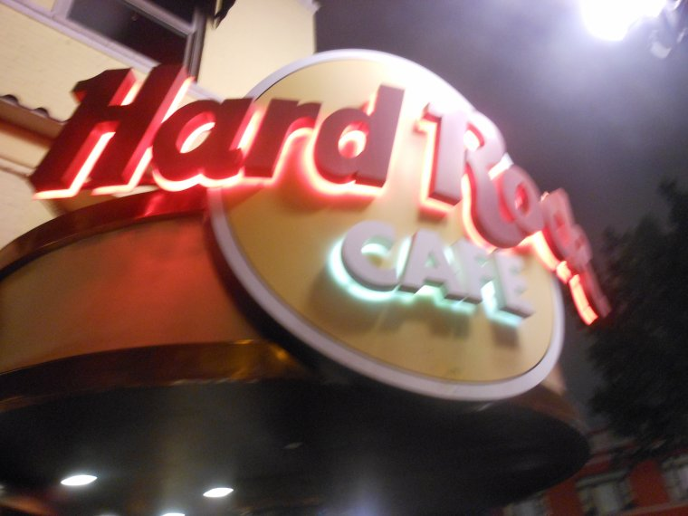 Hard rock Cafe.