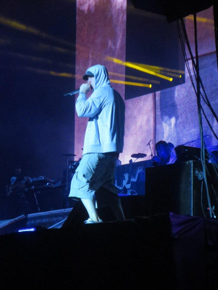 Eminem au Stade de France le 22 août 2013