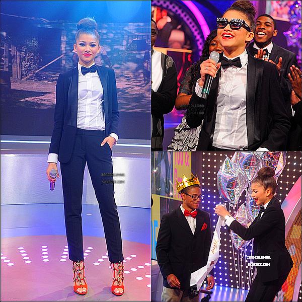 . 22/05/2013 : Zendaya était sur le plateau de l'émission 106&Park à New-York.  .
