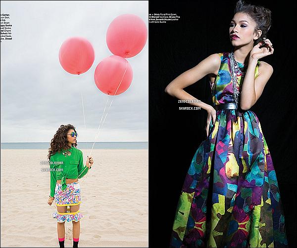. Découvrez dès maintenant plusieurs photos de Zendaya pour le magazine Jones Mag's! .