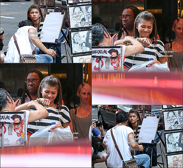 . 16/07/2013 : Zendaya Coleman a été aperçu dans les rues de New-York. .