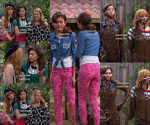 - Découvrez de nouveau stills de l'épisode Oui Oui It Up - Shake It Up saison 3 Perso, j'ai super hâte de voir cet épisode ! En plus, Bella et Zendaya sont assez amusantes. Qu'en pensez vous ? -