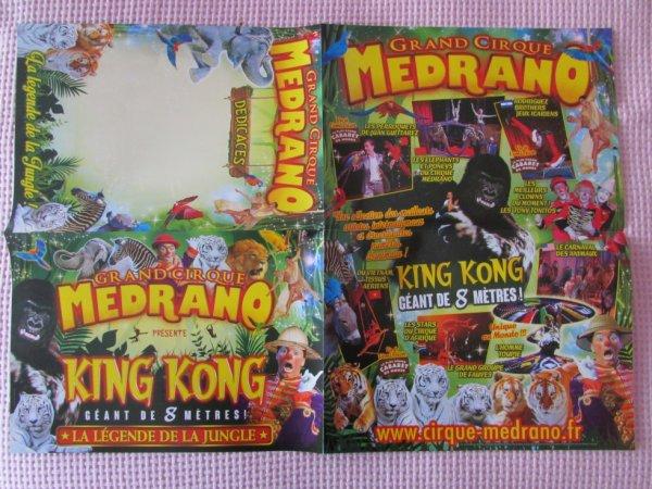 poster programme KING KONG !!!!