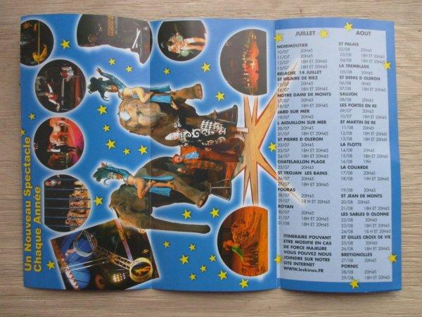 été 2003 le cirque KINO 'S passait sur la cote vendéenne !!!!