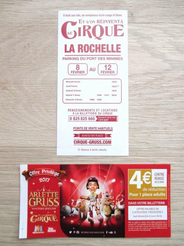 cette semaine le cirque ARLETTE GRUSS est à la rochelle !!!!