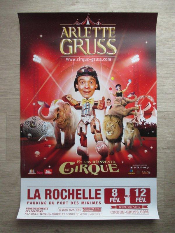 le cirque ARLETTE GRUSS à la rochelle !!!!