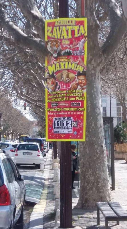 les nouvelles quilles du cirque MAXIMUM posées à sète !!!!