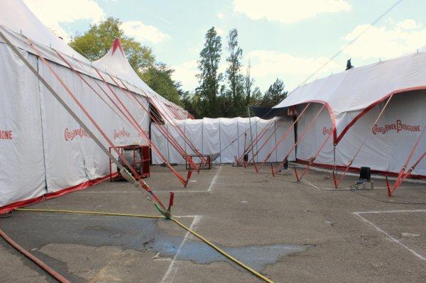 le cirque D HIVER BOUGLIONE à nantes !!!!
