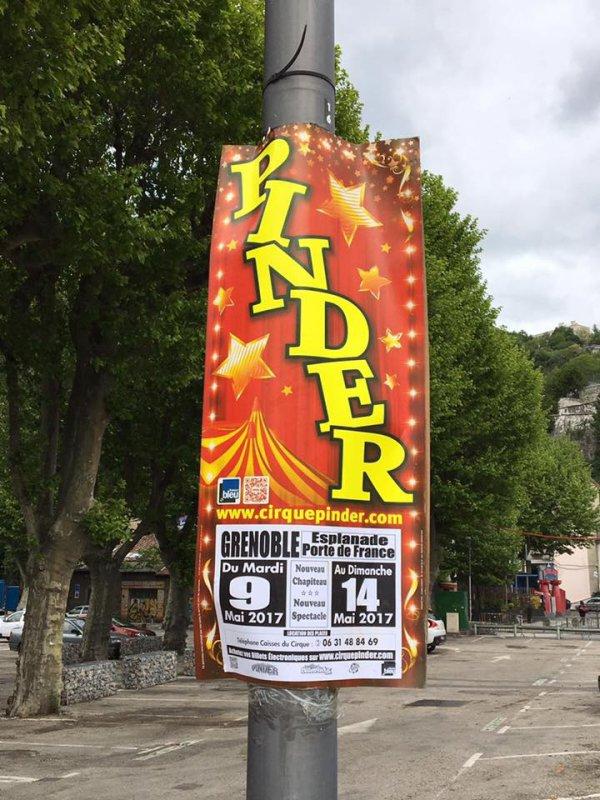 nouvelle quille au cirque PINDER !!!!