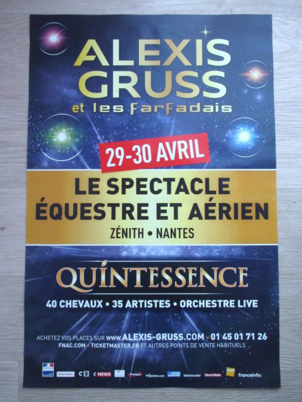 l affiche mag du cirque ALEXIS GRUSS à nantes !!!!