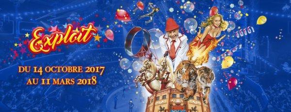 """"""" EXPLOIT """" le nouveau spectacle du cirque D HIVER BOUGLIONE à paris !!!!"""
