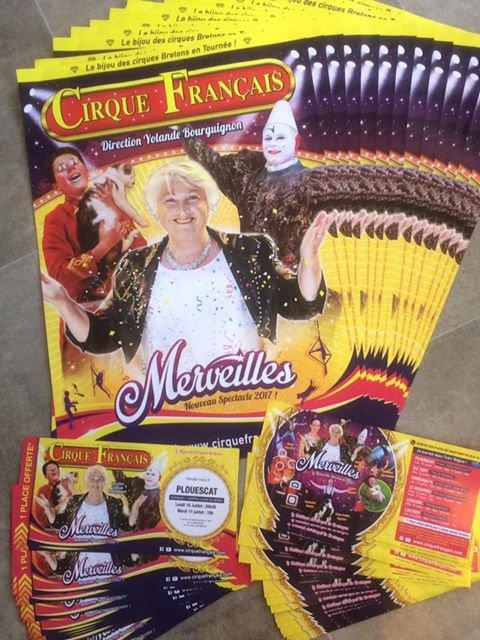 """"""" MERVEILLES """" le nouveau spectacle du cirque FRANCAIS !!!!"""