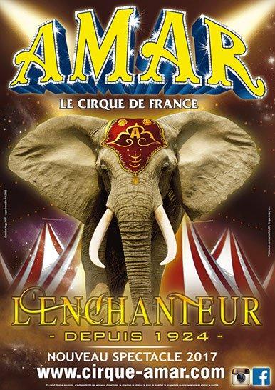 le cirque AMAR de retour à sion sur l océan avec son spectacle l enchanteur !!!