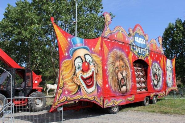 le cirque NICOLAS ZAVATTA à st gilles croix de vie !!!!