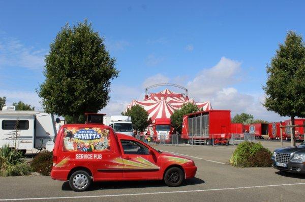 le cirque NICOLAS ZAVATTA à notre dame de monts !!!!