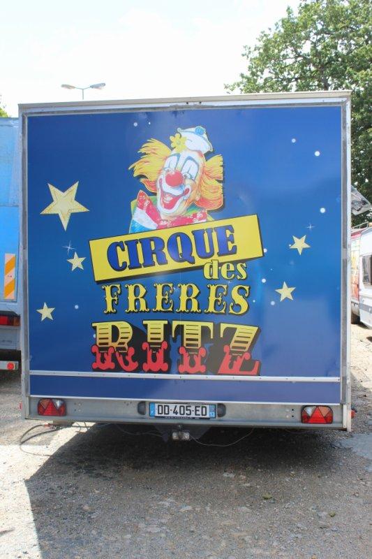 les cirques FANTASIA et RITZ à la roche sur yon !!!!