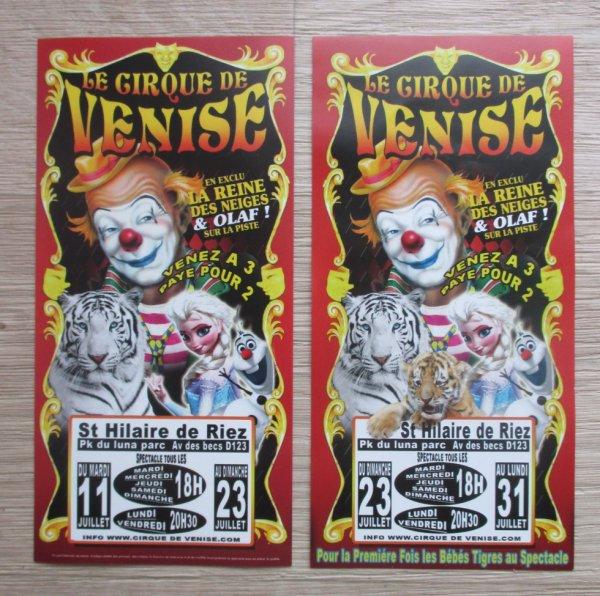 prolongation du cirque DE VENISE à st hilaire de riez !!!!