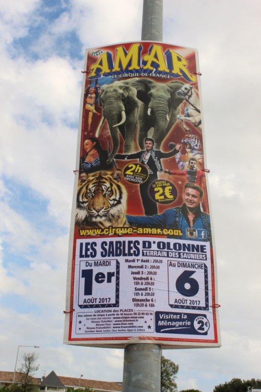 le cirque AMAR bientot aux sables d 'olonne avec son nouveau spectacle l enchanteur !!!