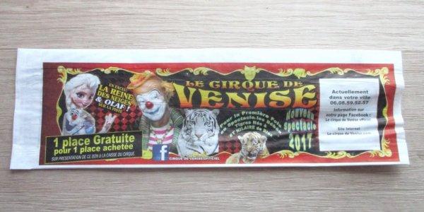 la nouveauté la poche à pain du cirque DE VENISE !!!!