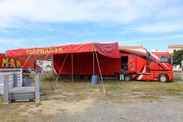 le cirque AMAR à sion sur l 'océan !!!!