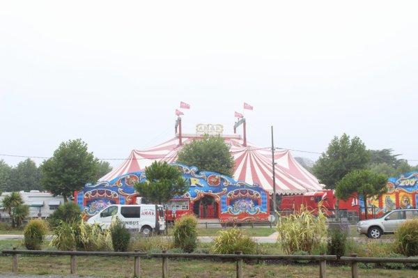 le cirque AMAR à pornichet !!!!