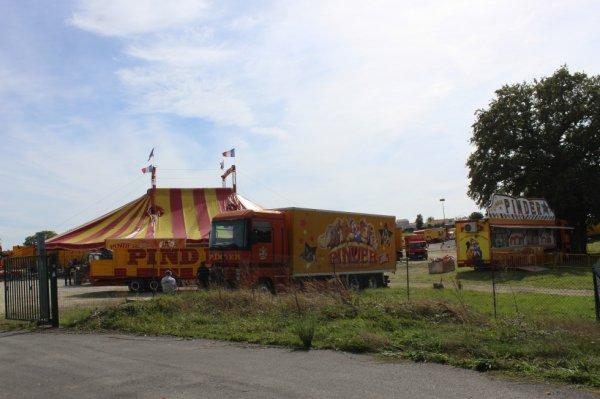 le cirque PINDER à la roche sur yon !!!!
