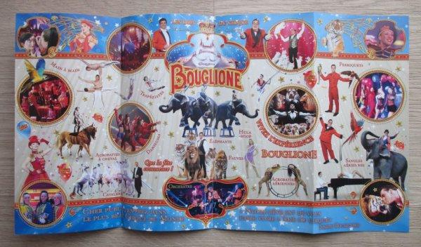 flyer cirque d'hiver BOUGLIONE à aix en provence !!!!