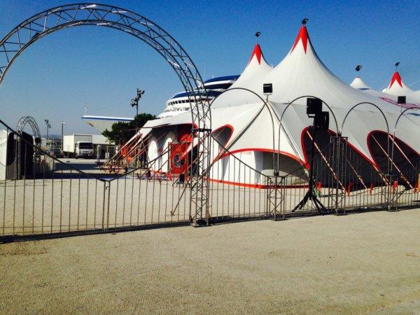 le cirque d 'HIVER BOUGLIONE à marseille !!!!