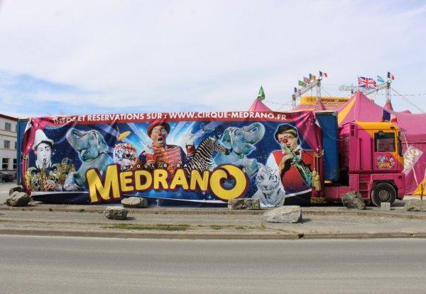 le cirque MEDRANO à la roche sur yon !!!