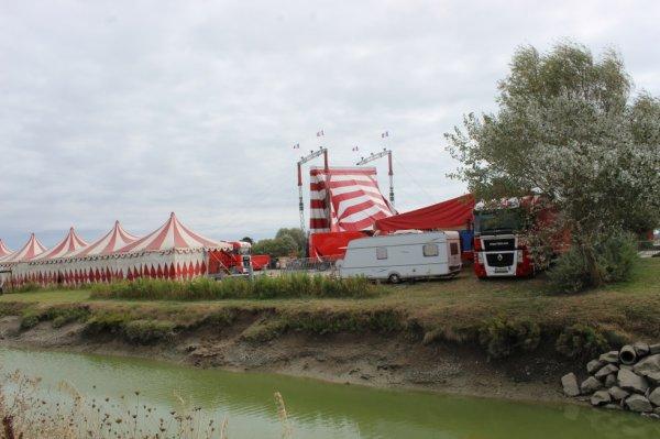 le cirque FALCK à noirmoutier !!!!